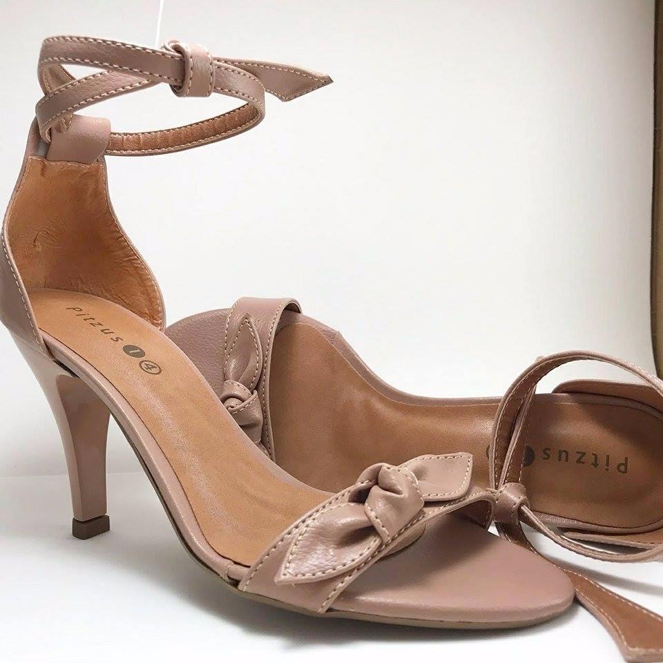 258fca2b0c sapatos femininos sandalia salto alto fino - champanhe. Carregando zoom.