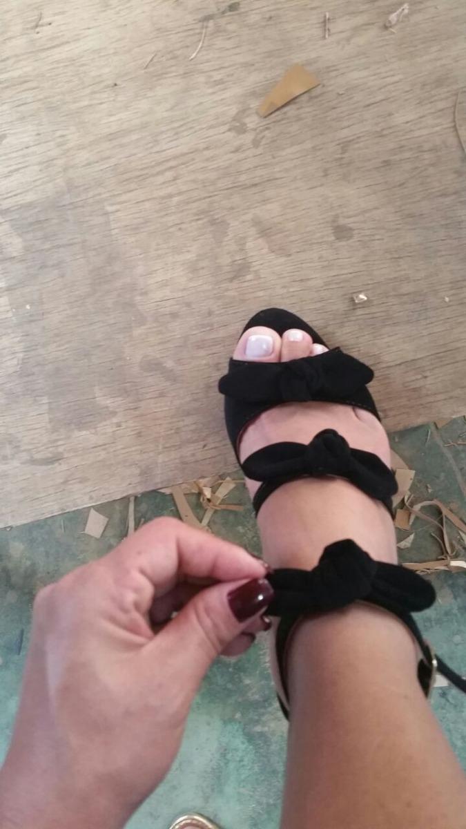 17da3c578 Sapatos Femininos Sandálias Laço Lancamento - R$ 198,00 em Mercado Livre