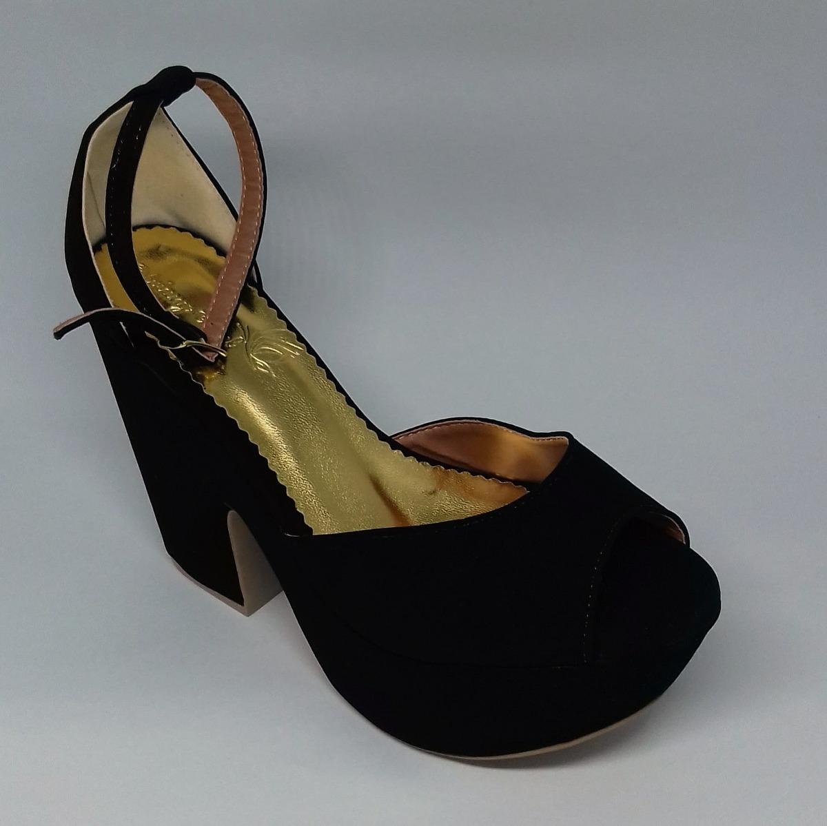 c0be6d4b5 sapatos femininos sandálias plataforma salto 12. Carregando zoom.