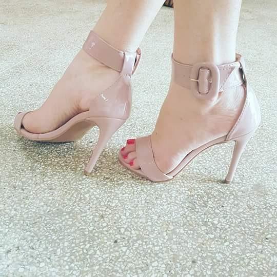 f8a21f270 Sapatos Femininos Sandálias Salto Fino Verao - R$ 210,00 em Mercado ...