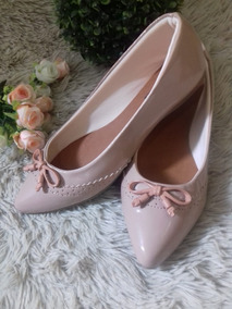 2a614f8e95 Sapato Scarpin Solado Oncinha Vermelho - Sapatos Rosa claro no ...