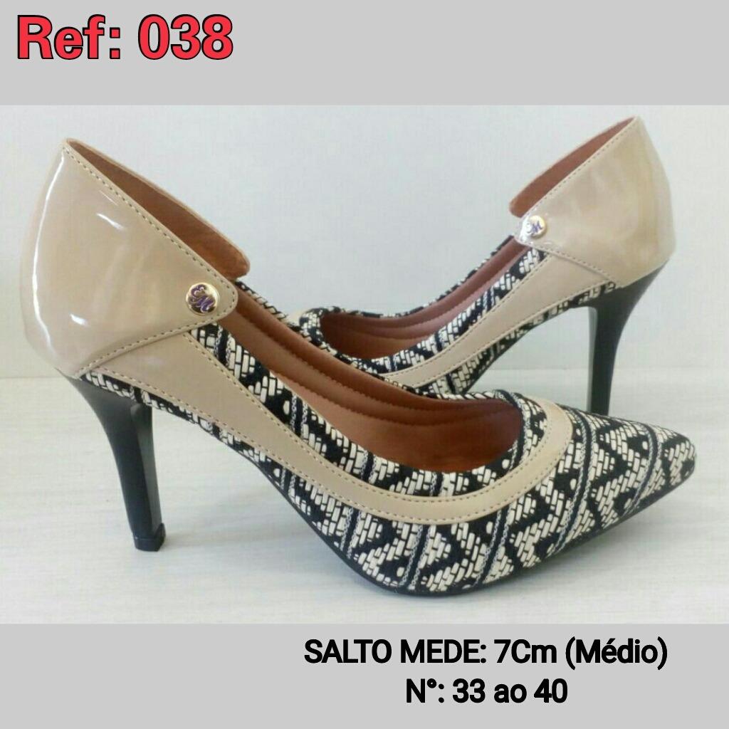919e2c4e8 sapatos femininos scarpins. Carregando zoom.