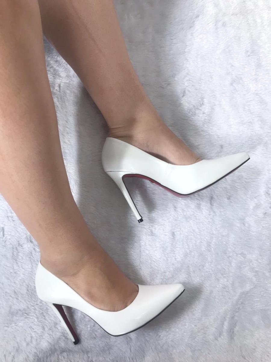 56f18c3e98 Sapatos Femininos Scarpins Noivas Coleção Luxo - R$ 305,00 em ...