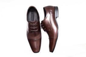 721286373 Sapato Democrata Social - Sapatos para Masculino Marrom com o ...