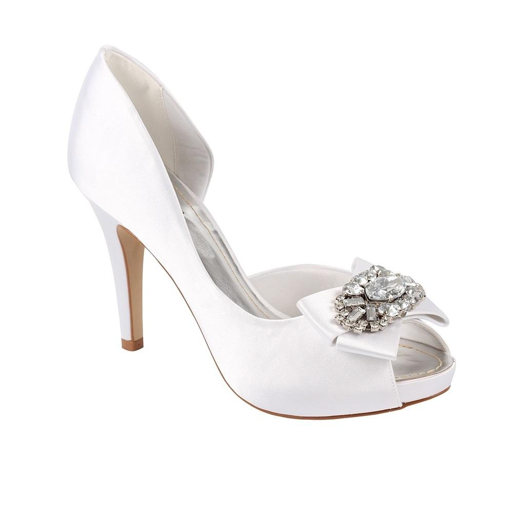 289328178f Sapato Zariff Shoes Meia Pata Peep Toe. sapatos para noivas e festas. Carregando  zoom.