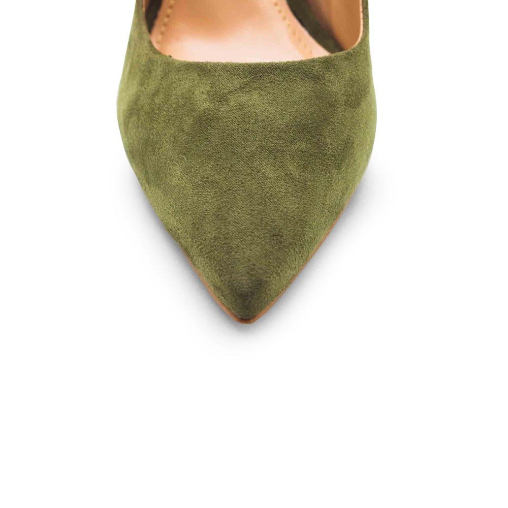 ca88b276f9 sapatos saltare anita 1 verde militar. Carregando zoom.