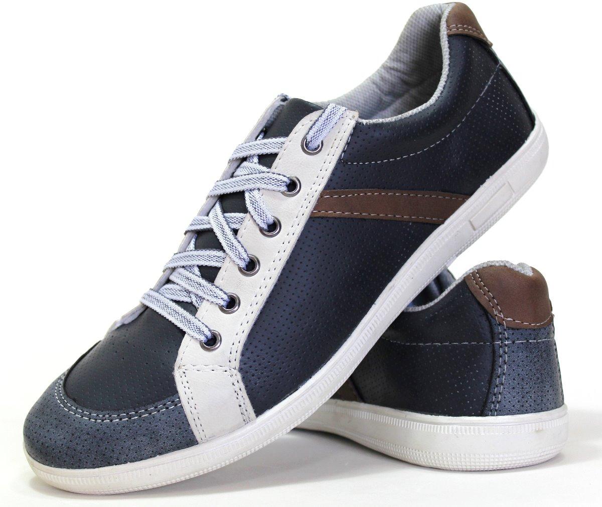 6e670d4cb5 sapatos sapatenis calçados masculinos barato promoção couro. Carregando  zoom.