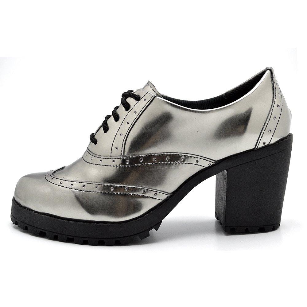 94d090b98f sapatos femininos sapato oxford trator lançamento verão 2019. Carregando  zoom... sapatos sapato oxford. Carregando zoom.