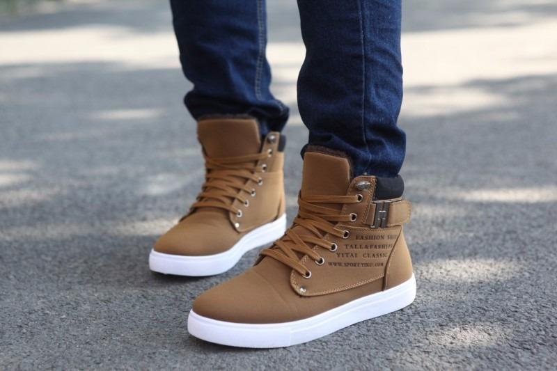 a2a294e42 Sapatos   Sapatos Masculinos   Tênis Estilosos- Masculino - R  150 ...
