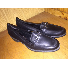 5fb8dbaa3debf Sapato Salvatore Ferragamo Preto Em Mocassins - Sapatos para ...