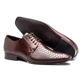 20cfab28c3e5f Sapato Social De Couro De Crocodilo - Sapatos no Mercado Livre Brasil