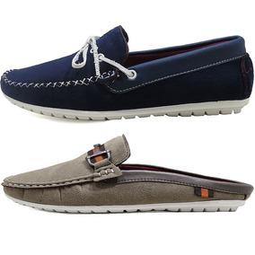 c7a100f80 Mocassim Masculino - Sapatos para Masculino Cinza claro no Mercado ...