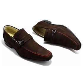 b207cfed60 Sapato Casual Social Masculino Couro Estilo Italiano