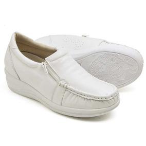 9691f7a6b Usaflex Branco - Sapatos para Feminino Branco no Mercado Livre Brasil