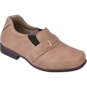 d0b04258c Sapato Social Juvenil Tamanho 20 - Sapatos 20 Marrom claro no ...