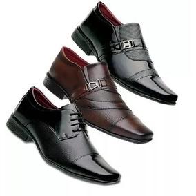8b79a44b9a Sapato Social Masculino Perfecta Couro Sintetico - Sapatos no ...