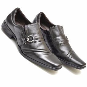e939a2ba7 Sapato Social Masculino Barato Promocão 100% Couro Ecológico ...