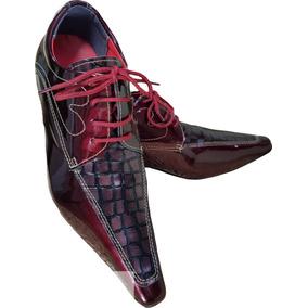 c135989fb425e Sapato Social Couro Jacare Ferracini - Sapatos no Mercado Livre Brasil
