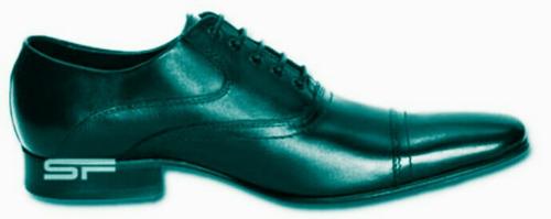 sapatos sócias de couro legítimo