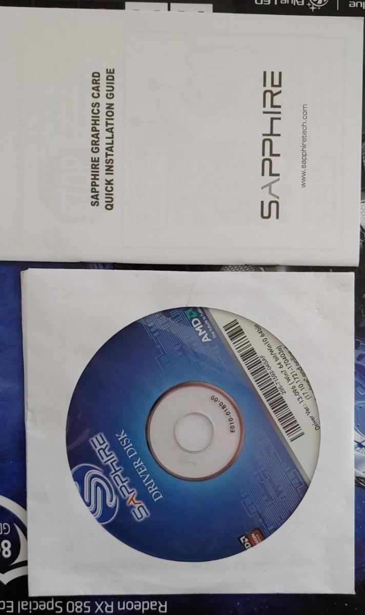 Sapphire Nitro+ Radeon Rx580 8g Gddr5 (uefi) Special Edition