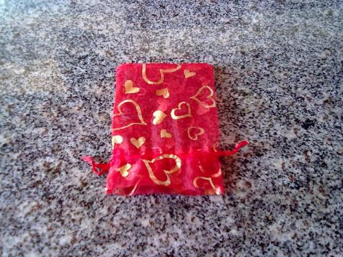 saquinho de natal para bijuterias e presentes