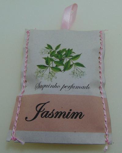 saquinhos perfumados - aroma jasmim