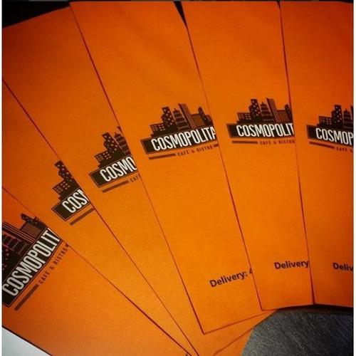 saquinhos talheres de papel personalizados 1 cor c/3000 unds