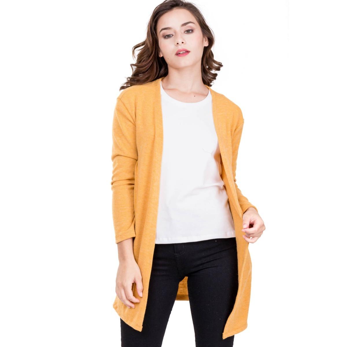 size 40 efe1a 9bba6 Saquito Cardigans De Mujer Sweater Largo Otoño Primavera