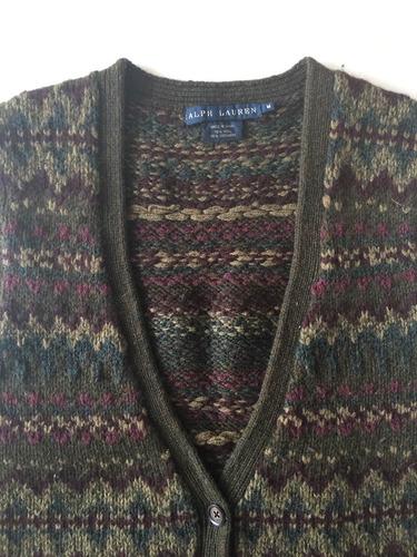 saquito chaleco sweater