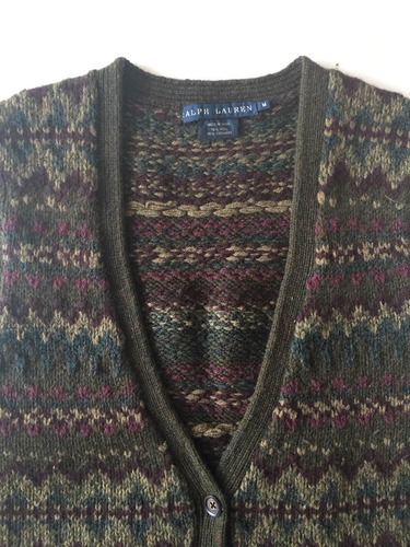 saquito chaleco sweater cardigan