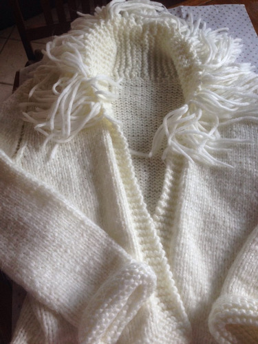 saquito de lana.