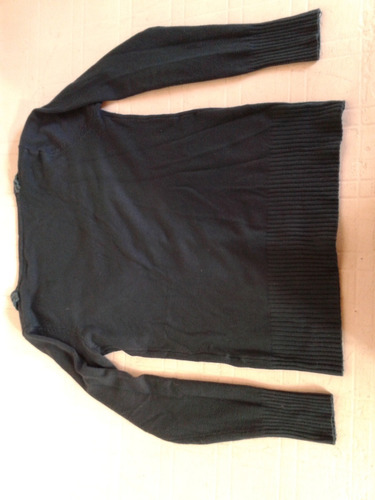 saquito rayon color petroleo talle s impecable!