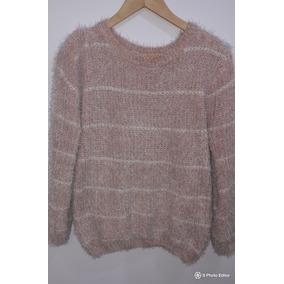 3198e9147 Sweater Lana Y Piel - Ropa y Accesorios Blanco en Mercado Libre ...