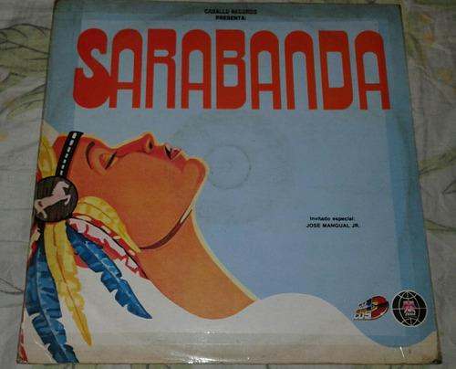 sarabanda / barranquillero arrebatao / salsa / lp vinilo dis