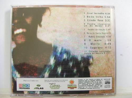 saragana, margens flácidas, cd original raro
