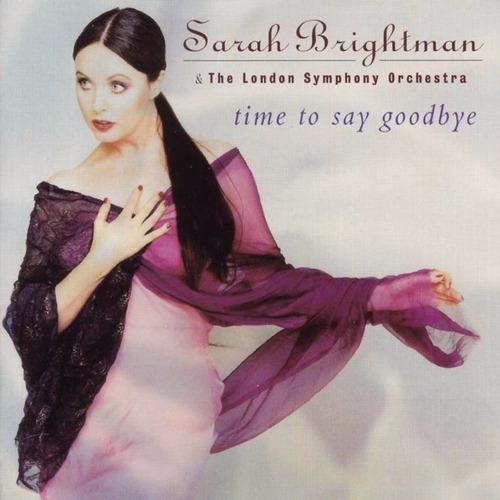 sarah brightman - time to say goodbye cd importado