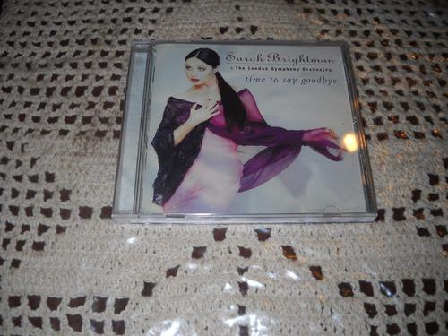 sarah brightman - time to say goodbye cd original usado.