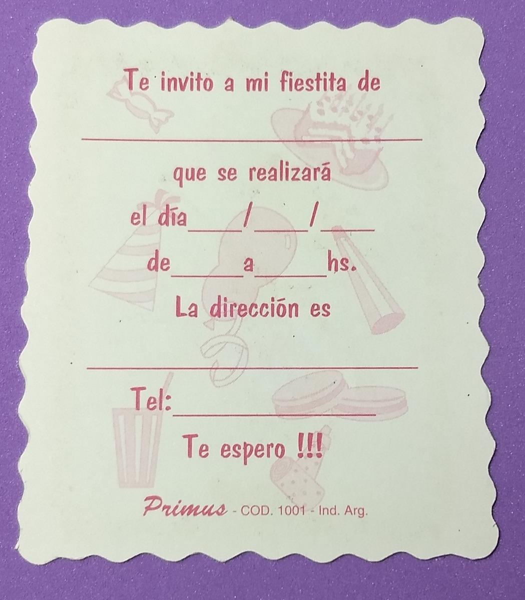 Tarjetas De Invitacion De Cumpleanos Togo Wpart Co