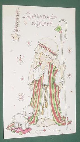 sarah kay tarjeta navidad reyes magos que te puedo regalar ?