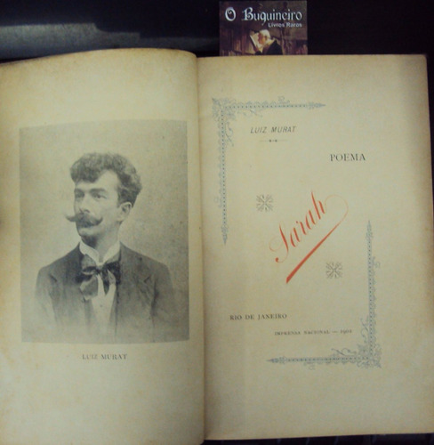 sarah - luiz murat - 1ª edição