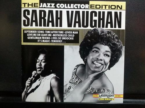 sarah vaughan the jazz collector cd semnvo 1ra ed 1991 usa