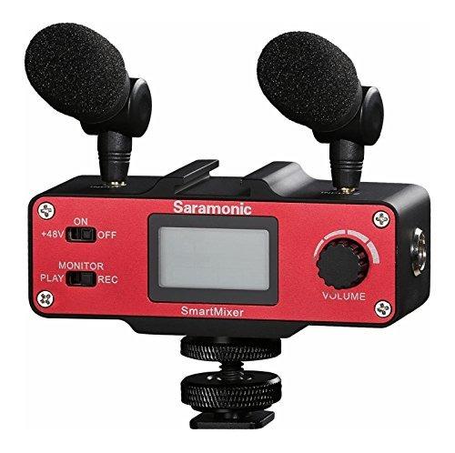 saramonic ultimate smartphone video kit with 2-ch audio mixe