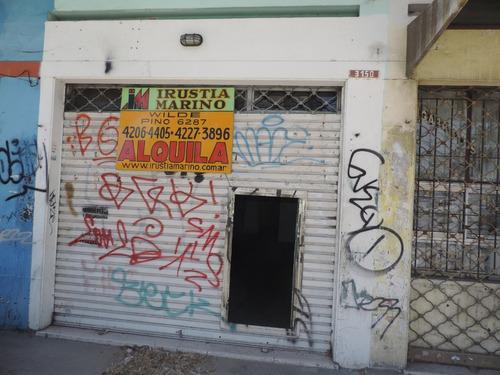 sarandi alq. local de 3 x 15 sobre avenida mitre 3.100
