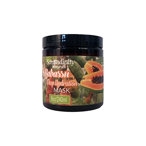 sarandipity naturals babassu deep hydration mask, 8 onzas
