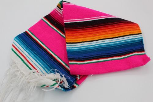 sarape de saltillo artesanía 100% mexicana mini