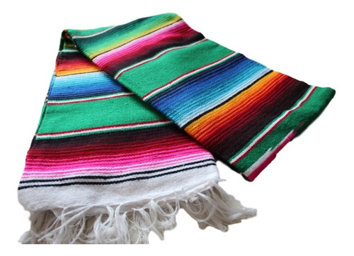 sarape de saltillo mexicana matrimonial (2pack)