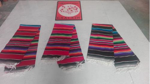 sarape de saltillo mexicana matrimonial (3pack)