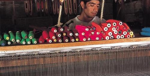 sarape de saltillo miniatura artesanía 100 pzas