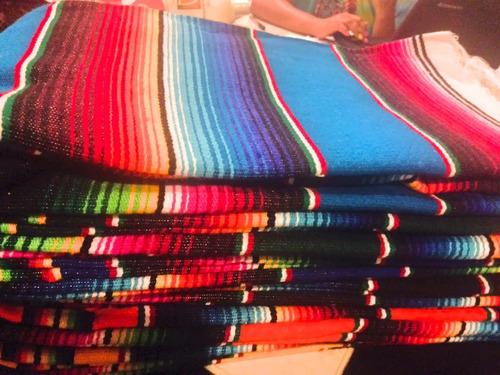 sarape saltillo mexicano chico 90x190cms (3 pack)
