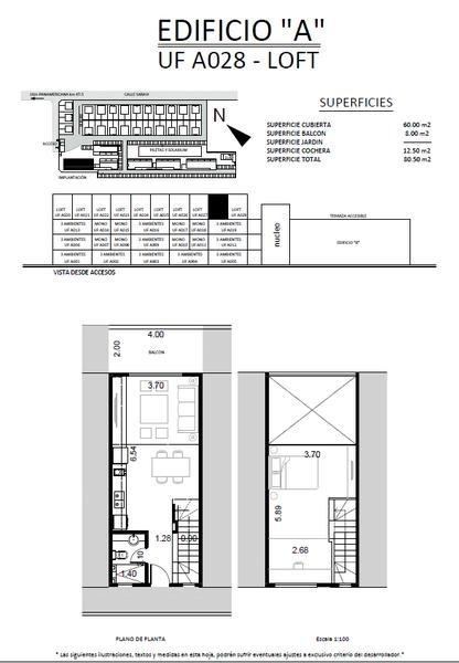 saravi village, 2 ambientes en venta en pilar